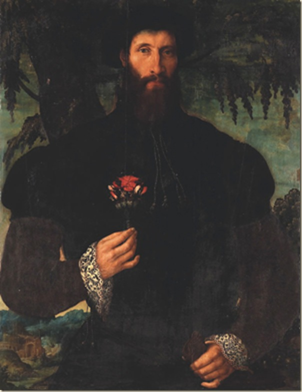 Maerten Van Heemskerck, Autoportrait
