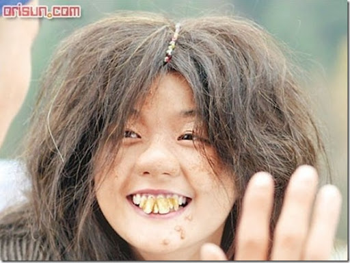 Ugly Chinese Woman Wife for being too ugly