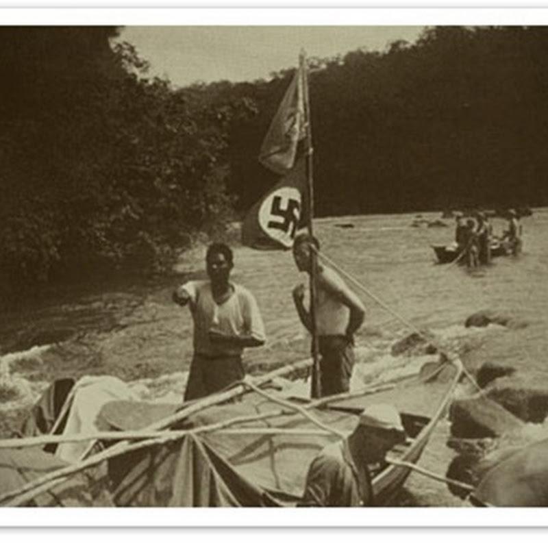 Os nazistas no Brasil: Fotografias dos nazistas na Floresta Amazônica