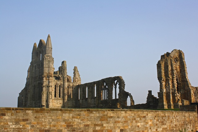 The Ruins of Whitby Abbey
