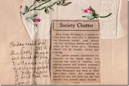 Society Chatter