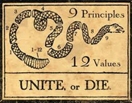 Unite or Die - American Revolution -