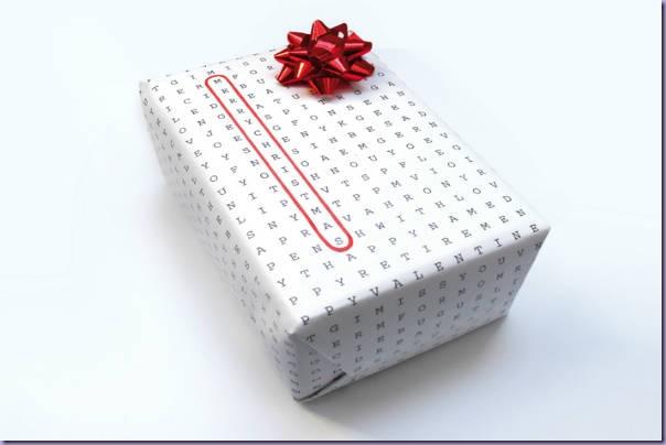 Caça-Palavras-Papel-Presente-Merry-Christmas