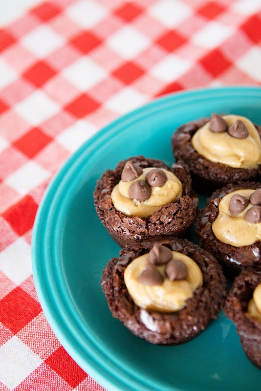 Peanut Butter Brownie Mini Bites Recipe