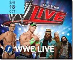 boletos WWElive en Mexico df 2014 primera fila