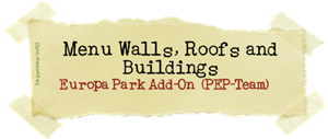 Menu Walls, Roofs and Buildings (PEP-Team) lassoares-rct3