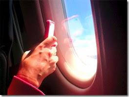 aparelhos em voos