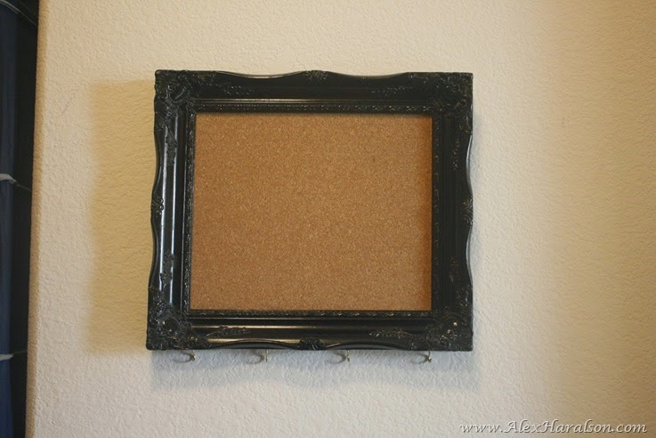 DIY Framed Jewelry Organizer5