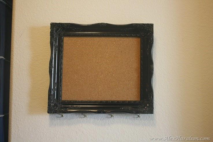 DIY Framed Jewelry Organizer5