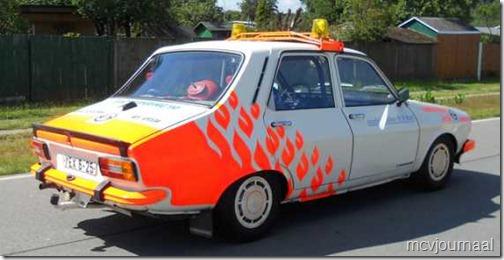 Dacia als safety car Classic Grandprix Schleiz 01