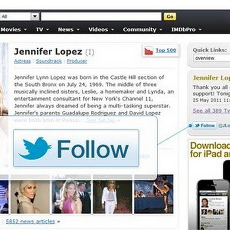 Add a One-Click Twitter Follow Button to Your Blog