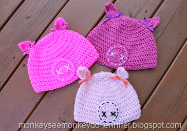 three little pigs hats