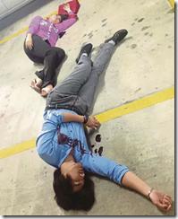Fasha Sandha dan Dazrin ditembak