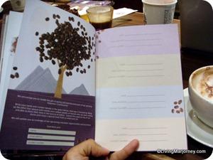 2013 Coffee Bean & Tea Leaf (CBTL) Giving Journal