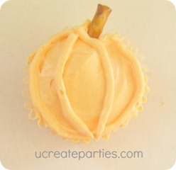 How to make pumpkin cupcake