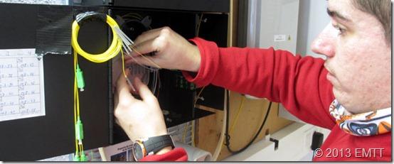 Organizando fibras en el RITI