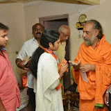 @ Shri Yoganarasimha Swamy Temple & met Shri Bhashyam Swamiji to seek blessings