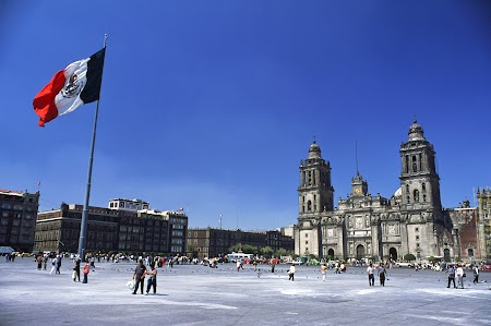 Imagini Mexic: Centrul istoric al orasului Mexico DF