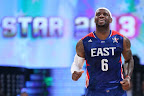 lebron james nba 130217 all star houston 09 game 2013 NBA All Star: LeBron Sets 3 pointer Mark, but West Wins
