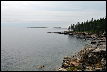 12 - Schoodic Point Drive - Beautiful views but no crashing waves