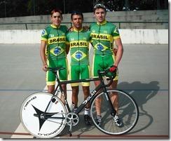 Caio, Carlos e fernando prontos para Guatemala