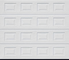 Garador Georgian White sectional door panel