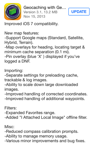 Geosphere 3.1 for iOS