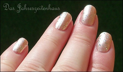 Silvester Nageldesign Champagner Nails 6