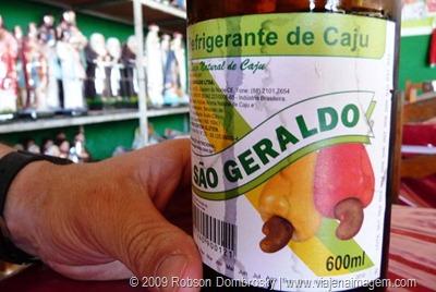 cajuína refrigerante de caju