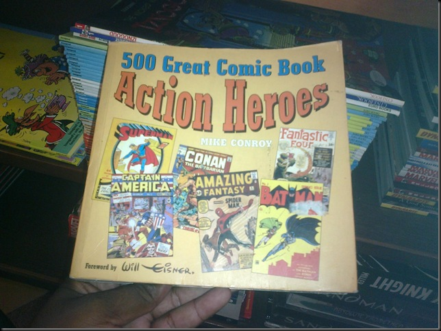 500 Great Comic Book Action Heroes Cover