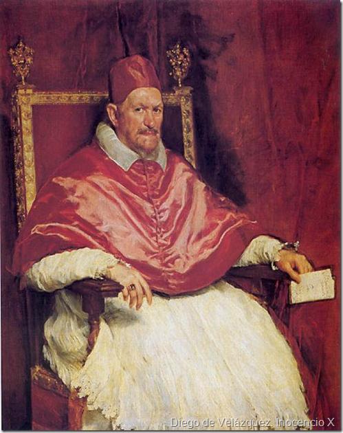 Diego de Velázquez. Inocencio X