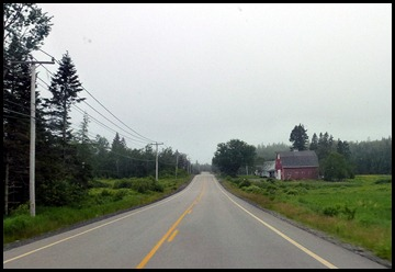 1 - Travel to Trenton - Rt 189 from Lubec to Rt 1
