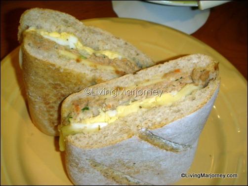 Starbucks Classic Tuna Dill on Ciabata Bread (P160)