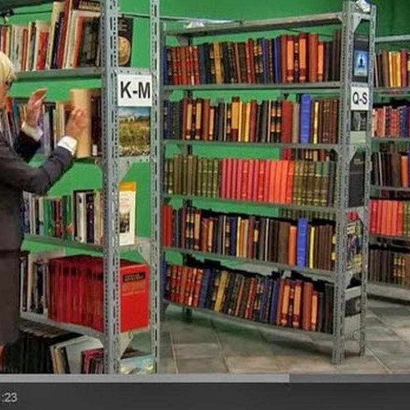 Ησυχία στη βιβλιοθήκη