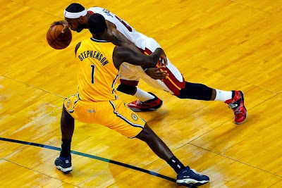 lebron james nba 140530 mia vs ind 23 game 6 Heat Eliminate Pacers, Advance to NBA Finals for 4th Straight Year