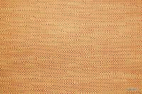 Ognioodporna tkanina dekoracyjna. Na zasłony, narzuty, poduszki, dekoracje. Styl naturalny, lniany. Pomarańczowa.