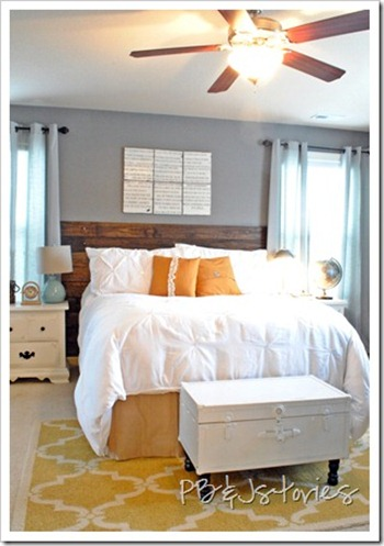 master bedroom yellow grey diy projects