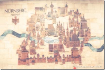 Рождество в Нюрнберге план города