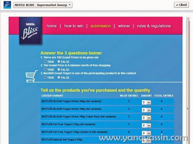Nestle Bliss 3