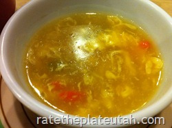 Mongolian Grill Egg Drop Soup