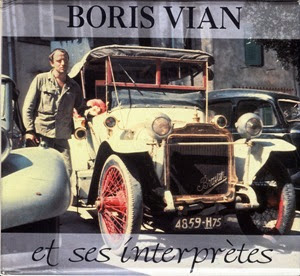 Boris Vian e vecchia automobile (copertina disco)