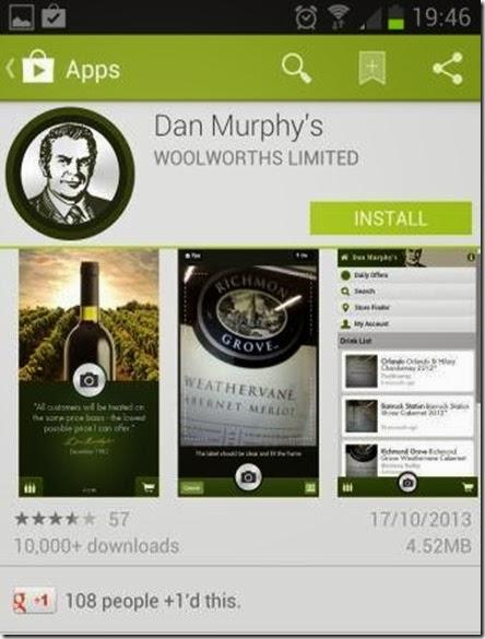 appstore dan murphy app australia