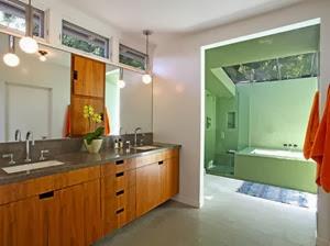 baño-casa-dexter-Hollywood Hills Los Ángeles
