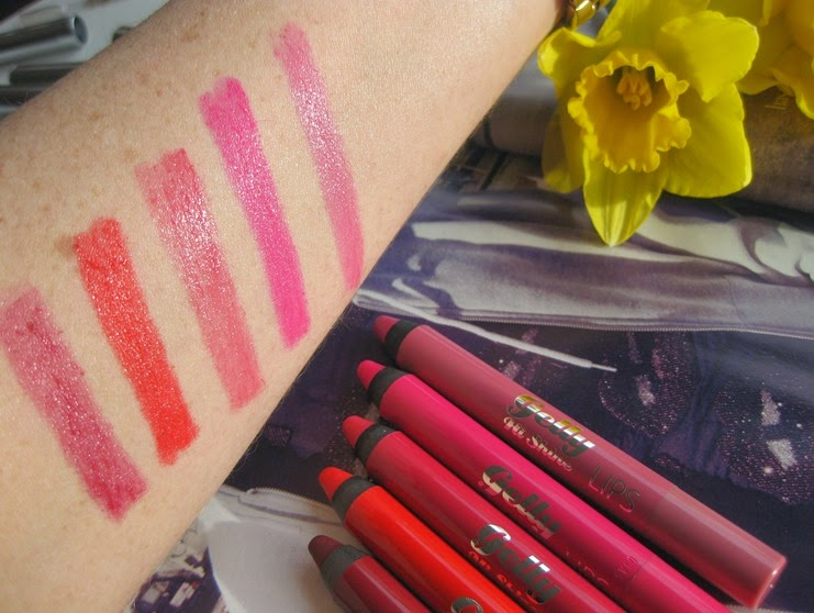 BarryM-Gelly-lipshine-swatches