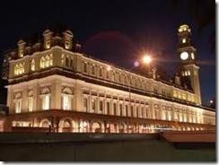 Museu da Lingua Portuguesa - vista da fachada