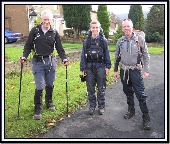 Setting off from Heath Road, Glossop