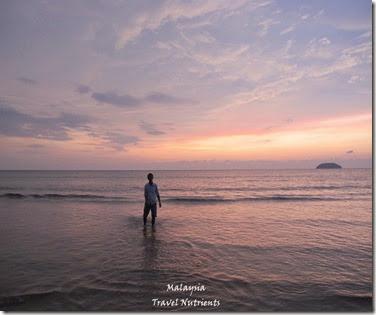 沙巴亞庇丹容亞路海灘夕陽 Perdana Park音樂水舞 (19)