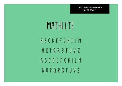 002 _ Una festa di carattere Mathlete
