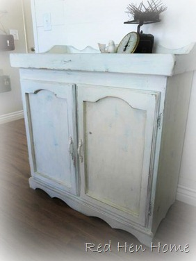 vintage replica dry sink chalk paint