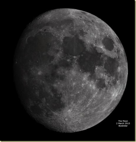 2 March 2015 Moon